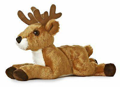 8 mini flopsie deer plush stuffed animal