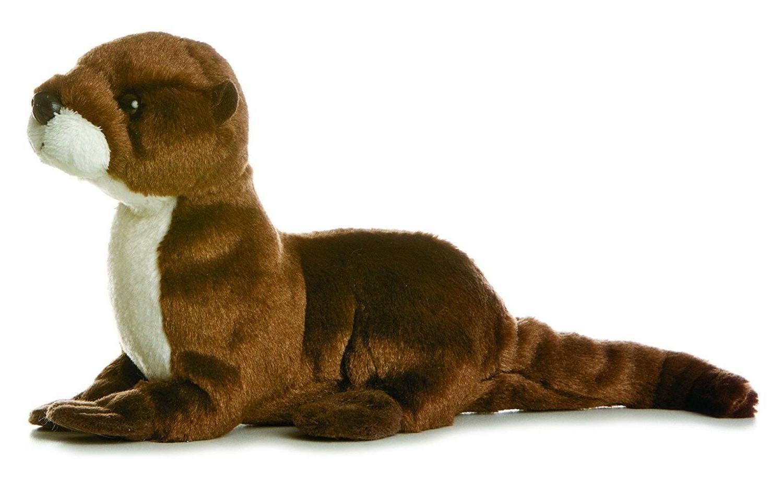 8 sliddy river otter plush