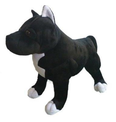 "ADORE 13"" Chance the Pit Bull Dog Stuffed Animal Plush Toy"