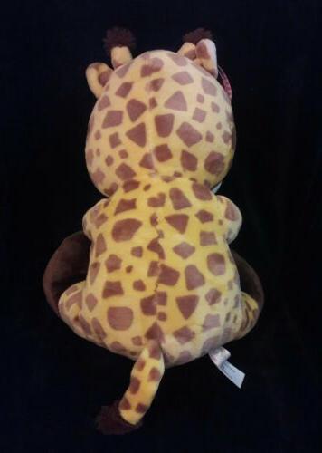 "ANIMAL brown yellow GIRAFFE animal 14"""