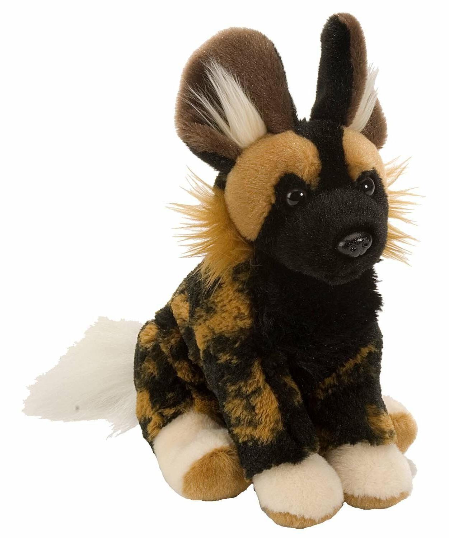 African Wild Dog by Wild Republic Plush Stuffed Animal toy 1
