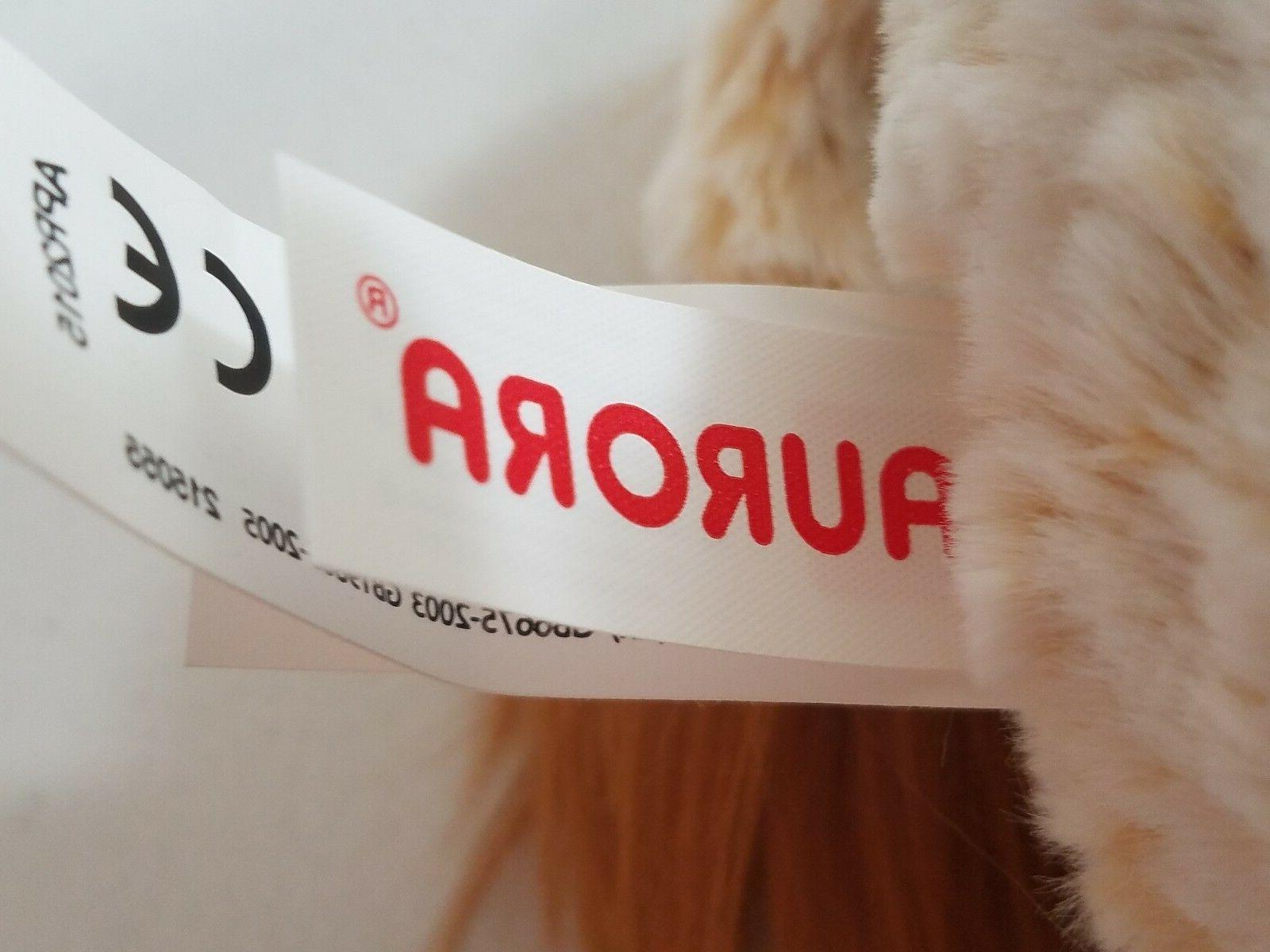 Aurora FUNNY LION Plush