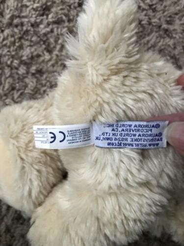 Aurora Pug Stuffed Animal