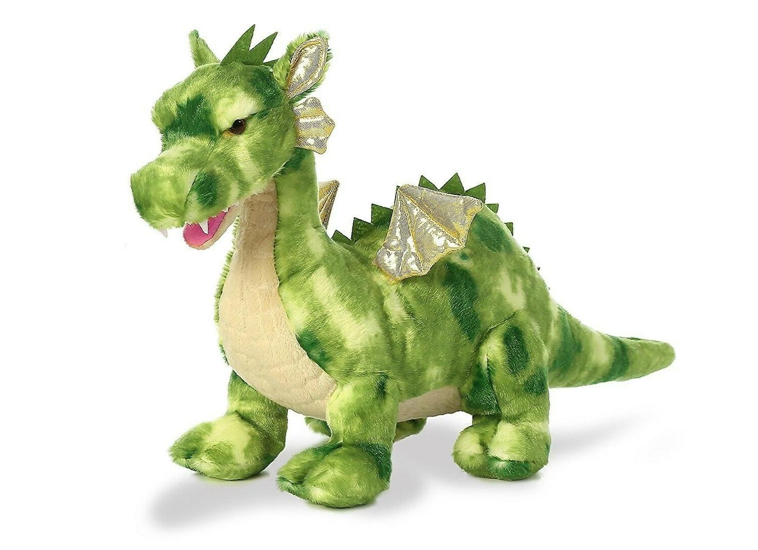Aurora World Dragon Plush, Vollenth The Green