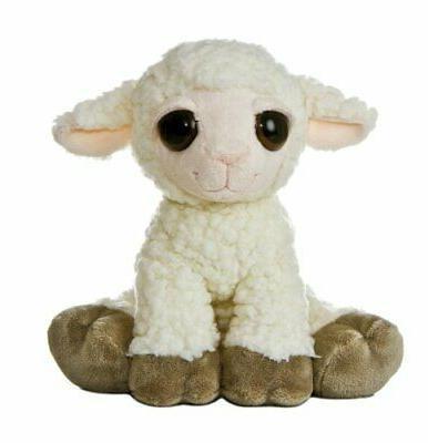 "Aurora World Dreamy Eyes Plush Lea Lamb 10"""