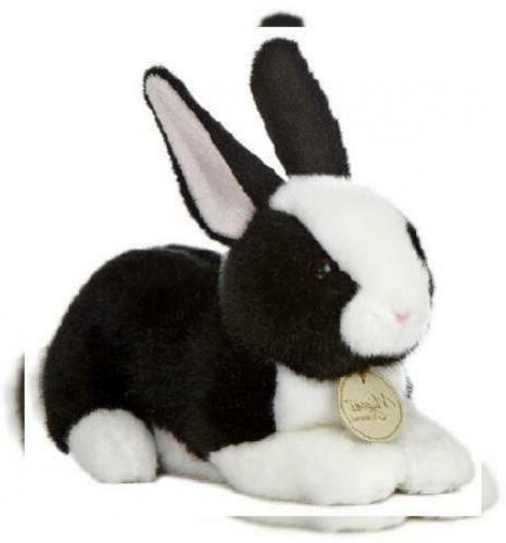 "Aurora World Miyoni Dutch Bunny Black and White 8"" Plush"