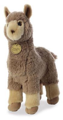 """Aurora World Miyoni Plush Toy Alpaca Tan, 12"""""""