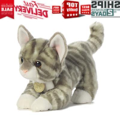 Aurora World Miyoni Tots Grey Tabby Kitten Plush