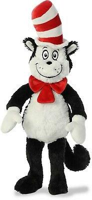 Aurora World Plush - Dr. Seuss - CAT IN THE HAT  - New Stuff