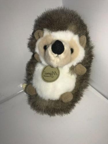Aurora World Plush - Miyoni - HEDGEHOG  - New Stuffed Animal