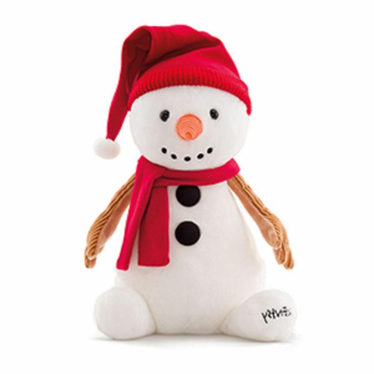 Authentic Scentsy Sammy the Snowman Stuffed Animal & Bonus J