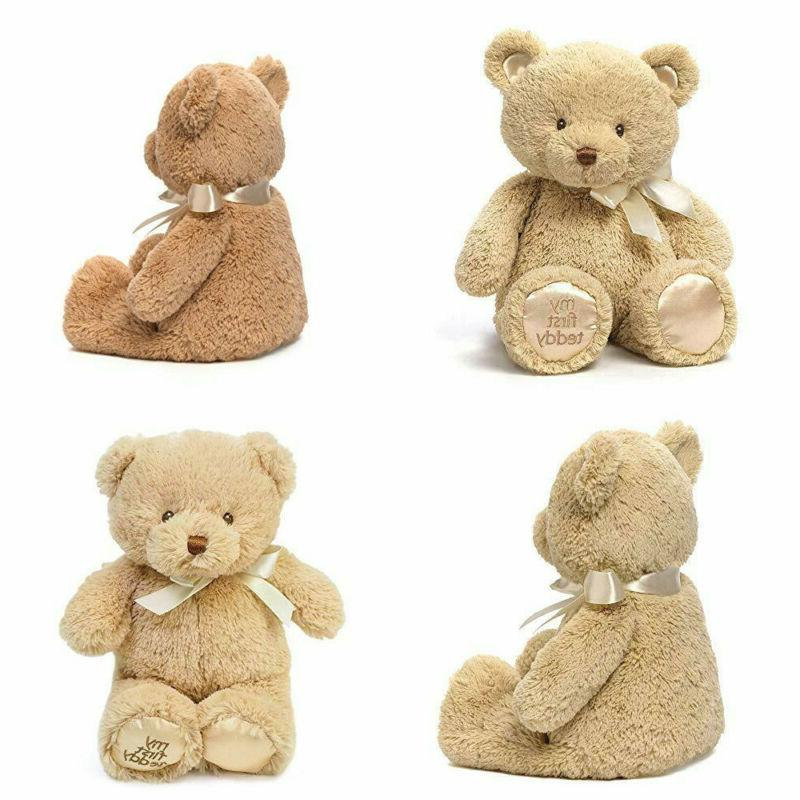 "10/"" 10/"" Baby GUND My First Teddy Bear Stuffed Animal Plush in Tan"