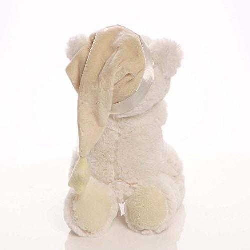 Baby Prayer Teddy Bear Musical Stuffed Animal Plush,