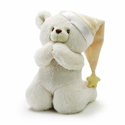 "Baby GUND Prayer Teddy Bear Musical Stuffed Animal Plush, 8"""