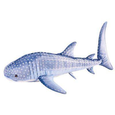 "Blue Whale Shark Stuffed Animal Plush 17"""