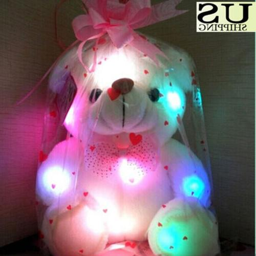 Christmas Gift Up Bear Stuffed Animals HX