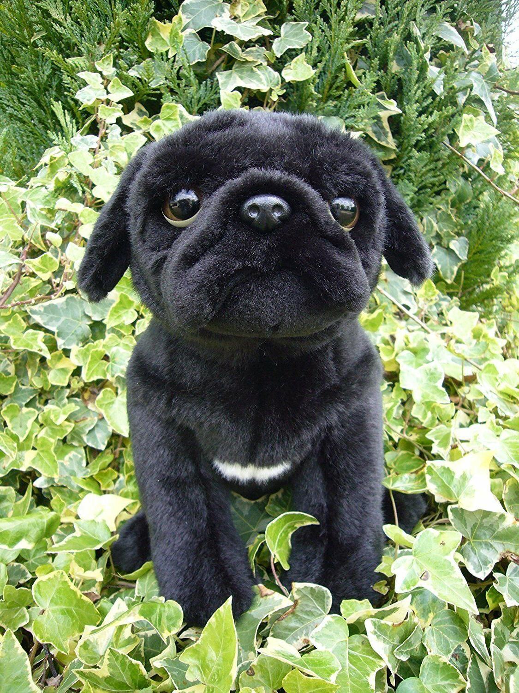 "Cute Pug  Soft Toy 12"" Puppy Dog Nice Plush Stuffed Animal T"
