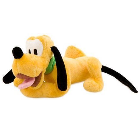 Disney Pluto Plush Toy - Mini Bean Bag - 9''