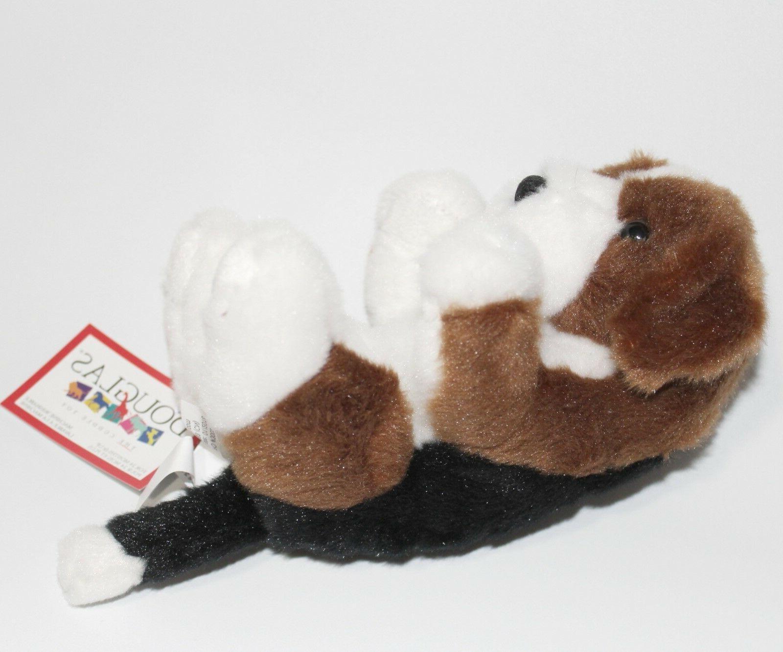 """Douglas 6"""" Puppy Stuffed Cuddle NEW"""