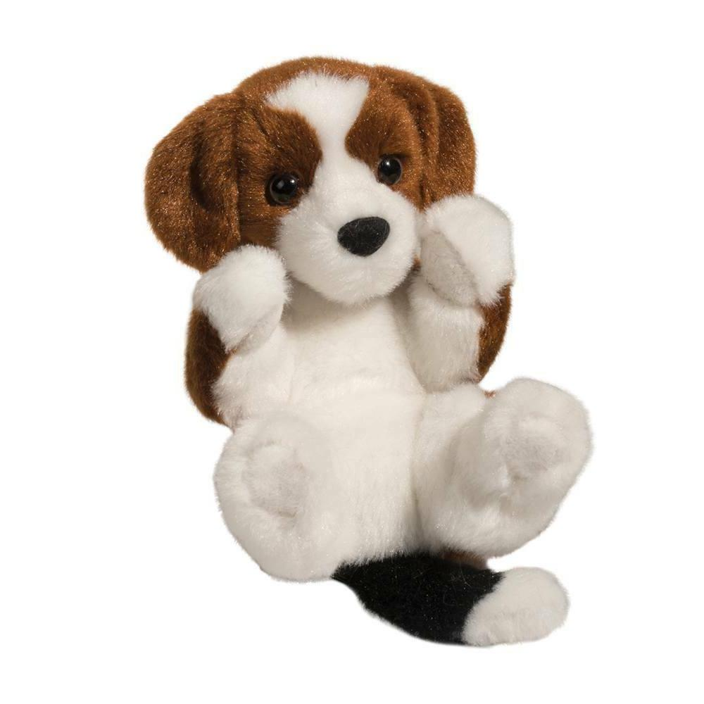 """Douglas BEAGLE Lil Handful 6"""" Plush Puppy Dog Stuffed Animal"""