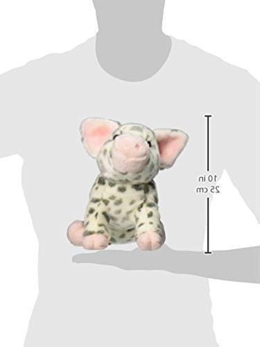 "Douglas Cuddle Toys Pauline Spotted Pig Plush 10"" H"