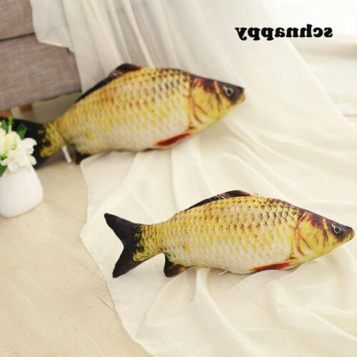 Funny Simulation Carp Kids Plush Toy Stuffed Fish Animal Toy