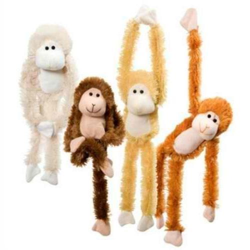 Fuzzy Friends Burnt Orange, Blonde, Cream and Friends with Velcro Hands Stuffed