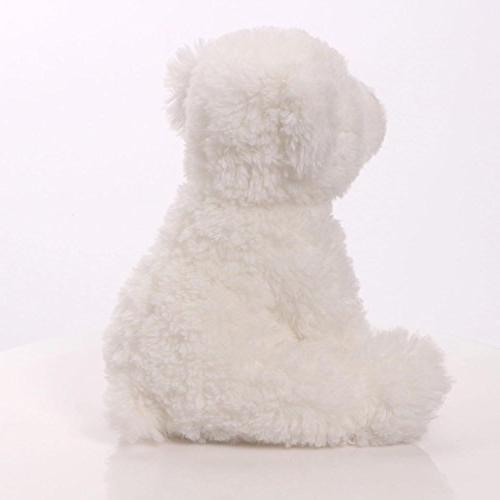 "GUND Fresco Polar Teddy Bear Stuffed Animal Plush, White, 10"""
