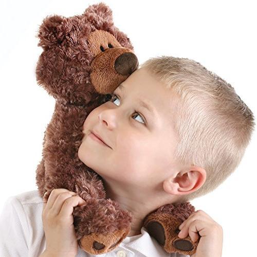 "GUND Philbin Teddy Bear Stuffed Brown, 12"""