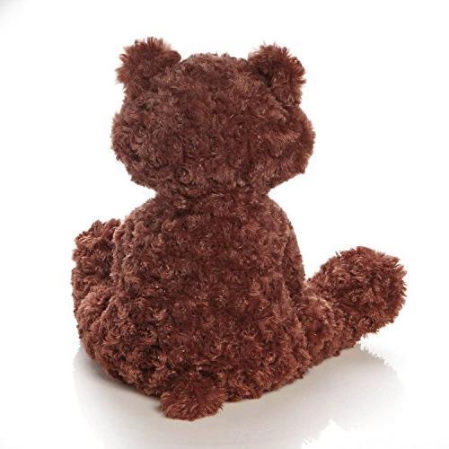 GUND Stuffed Animal Plush, Chocolate Brown,