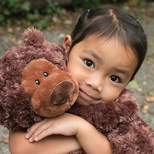 "GUND Philbin Teddy Bear Stuffed Animal Chocolate Brown, 18"""