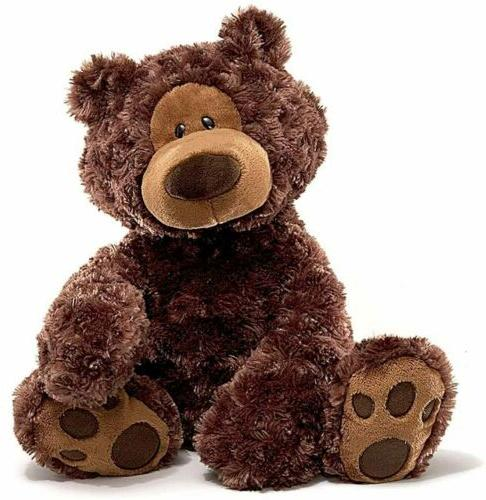 GUND Philbin Teddy Bear Stuffed Animal Plush, Chocolate Brow