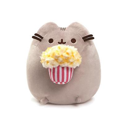 "GUND - Popcorn Animal 9.5"", Gray"