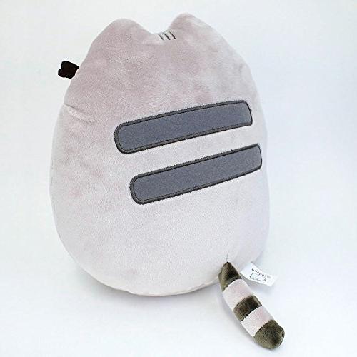 GUND Cat Plush Animal, Gray,