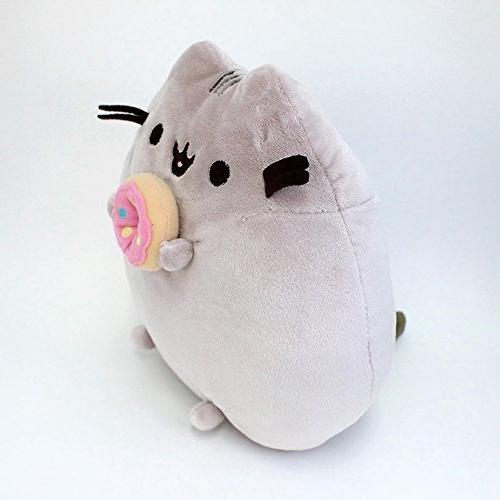 Cat Plush Animal, Gray,