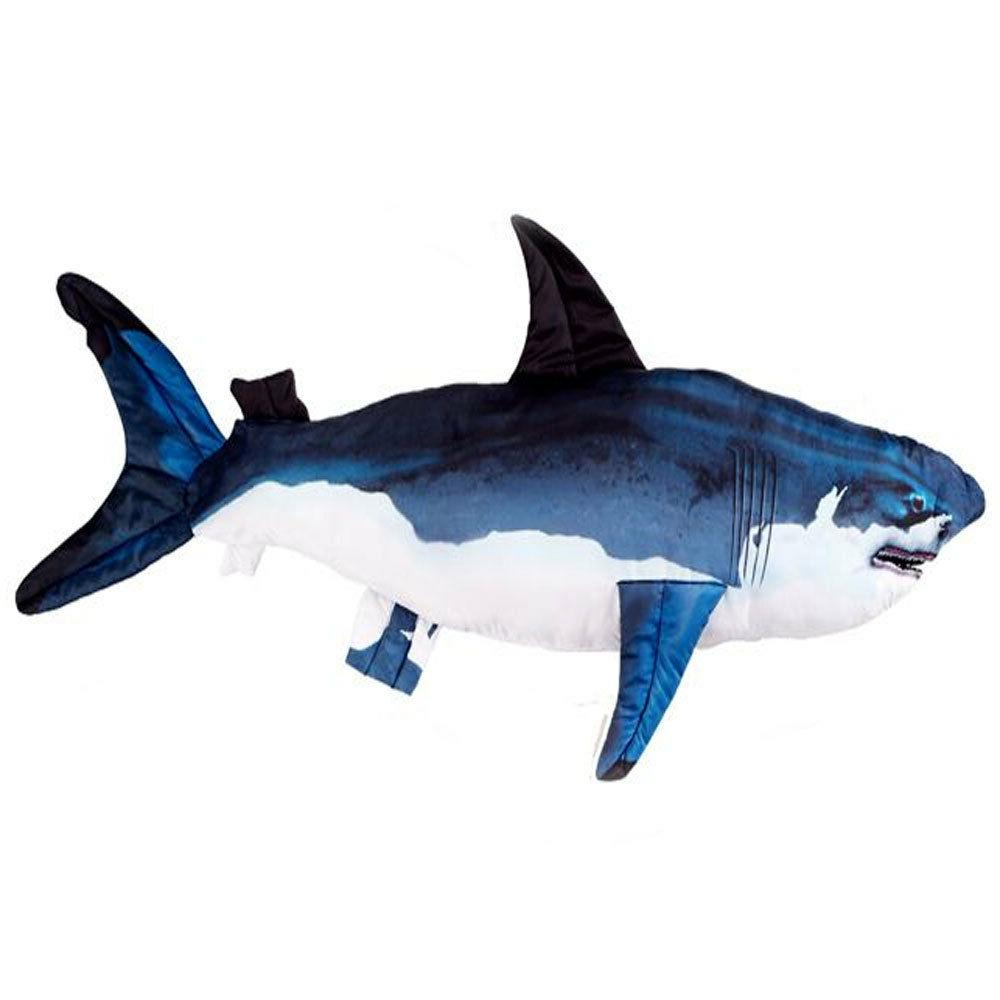 Giant Shark Plush Soft Fish PillowToys Stuffed Animals kid F
