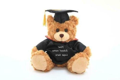 Graduation Teddy Bears Plush Stuffed Animals Personalized T