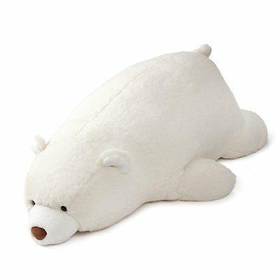 Gund Large Laying Down White Snuffles Teddy Bear Plush Stuff