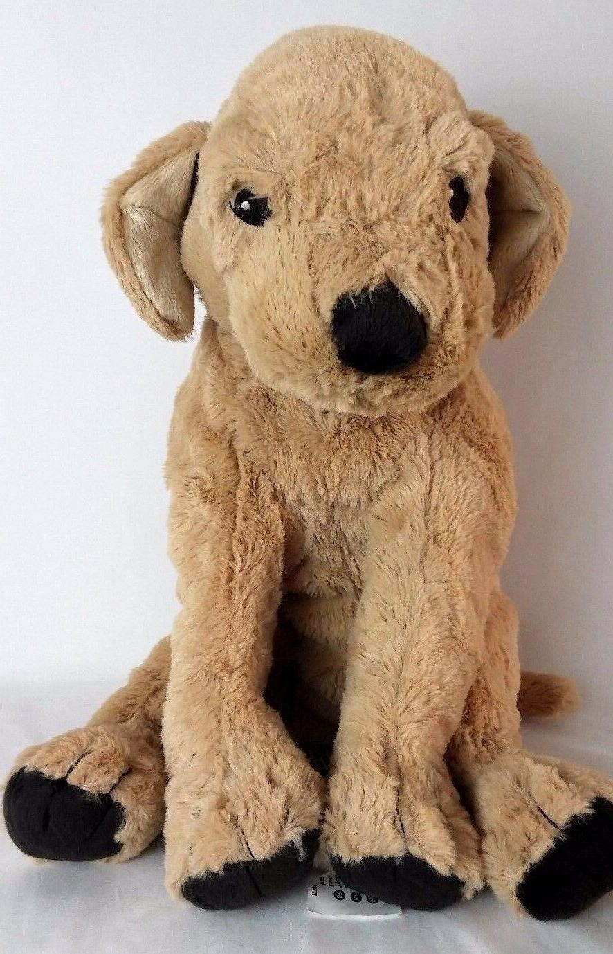 IKEA Golden Retriever Dog Puppy Kids Soft Stuffed Animal Plush Toy