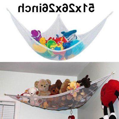 JUMBO Toy Hammock Net - Organize Stuffed Animals And Kids Ba
