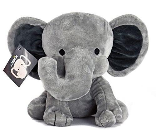 KINREX Elephant Plush - Elephant Stuffed Animal - Baby Toys