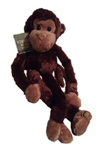 Large Hanging Hook Plush Monkey Planet
