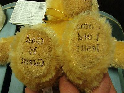 Melissa & Mealtime Prayer Bear Animal Toy PRAYS/ CUTE
