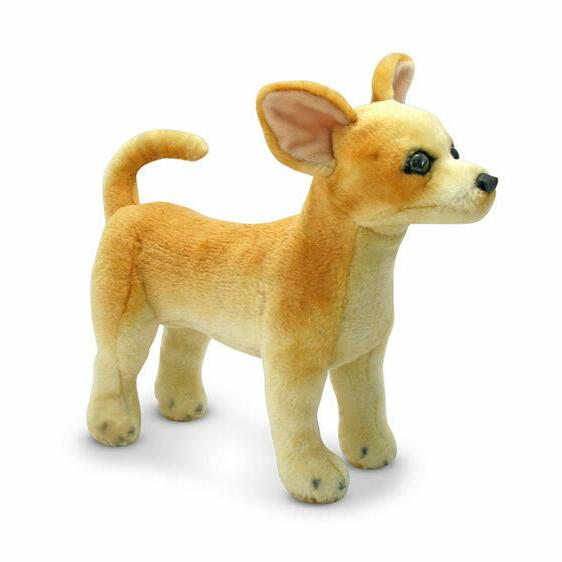 Melissa & Doug Chihuahua Dog - Lifelike Stuffed Animal