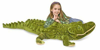 Melissa & Doug Giant Alligator - Lifelike Stuffed Animal