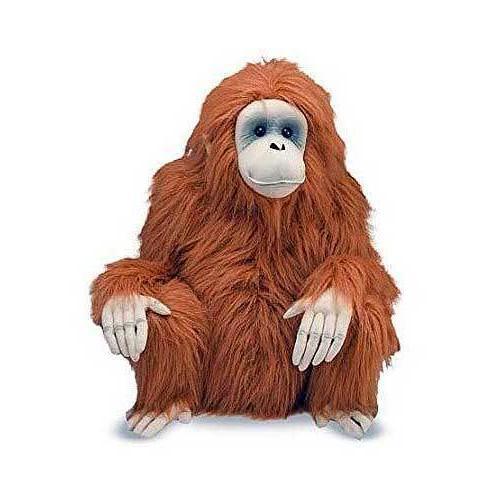 Melissa & Doug Giant Orangutan - Lifelike Stuffed Animal