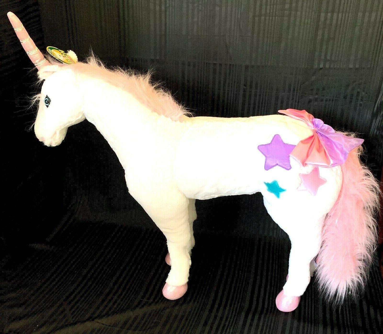 Melissa & Doug Giant Unicorn, Stuffed Animals & Play Toys, S