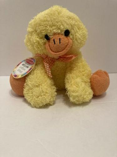 Melissa /& Doug Meadow Medley Ducky Stuffed Animal With Quacking Sound Effect