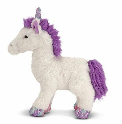 Melissa & Doug  Misty White UNICORN Plush  Stuffed Animal To