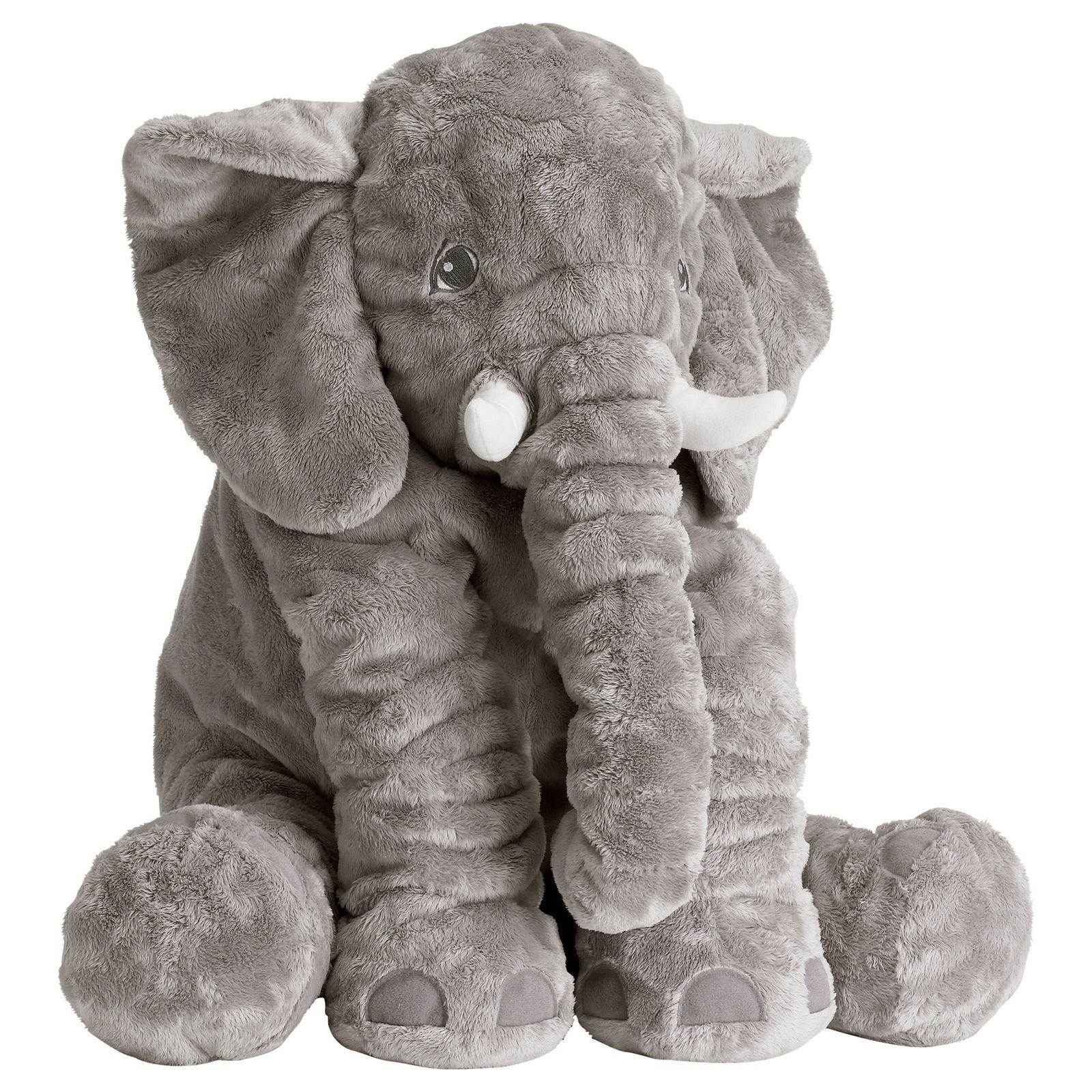 New IKEA JATTESTOR Large Jumbo Elephant Stuffed Animal Plush